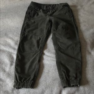 Gap - Heavy Cotton Joggers - Zippers at ankles